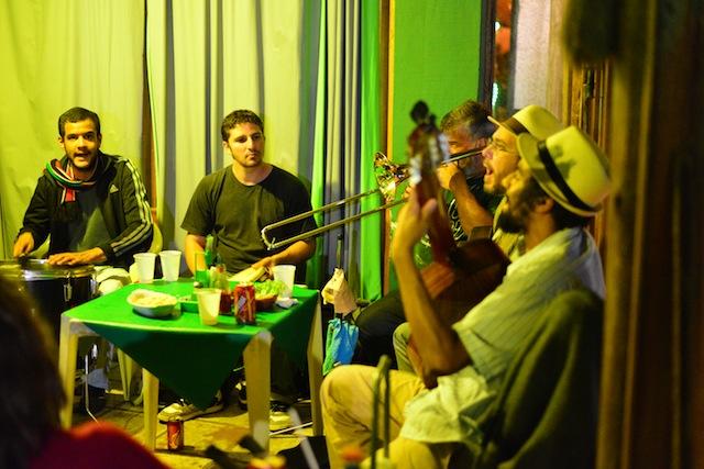 Local samba band