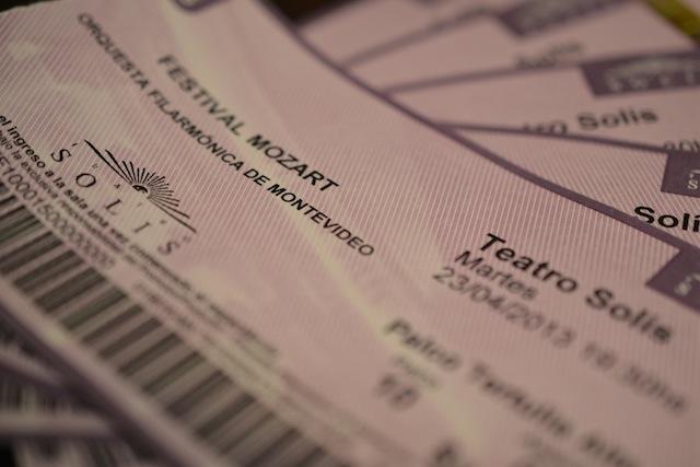 Teatro Solis concert tickets