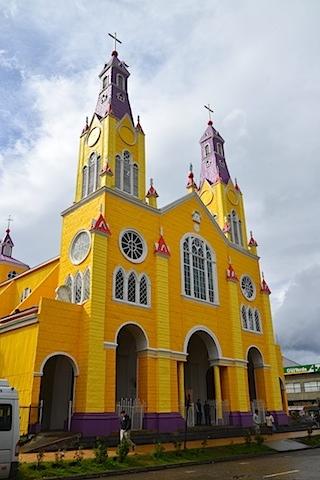 The Church of San Francisco Castro Chile