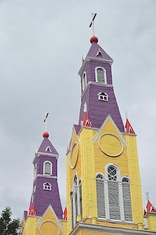 Church of San Francisco Castro Chile