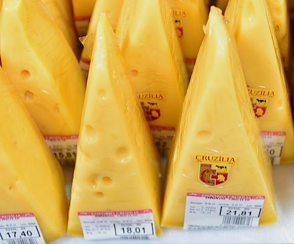 Local cheese at the mercado in Sao Paulo