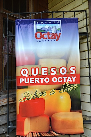 Puerto Octay is the best place to get local cheese.