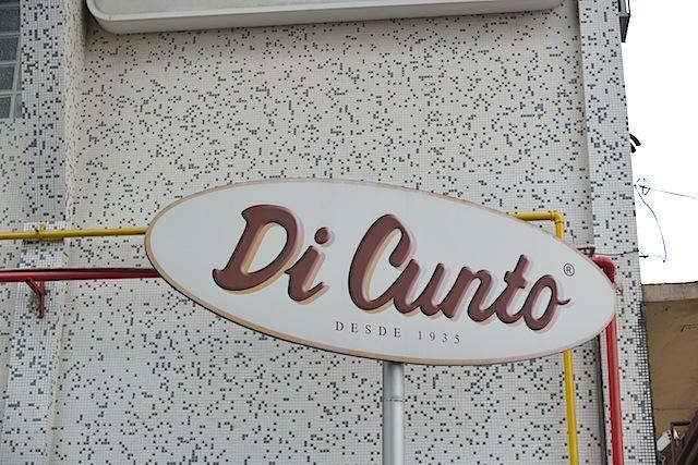Di Cunto bakery in the Italian neighborhood.