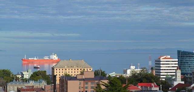 Strait of Magellan view