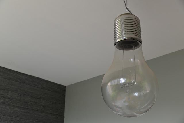 Light fixture in the room
