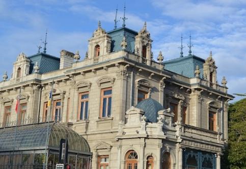 Historico edificio Punta Arenas Chile