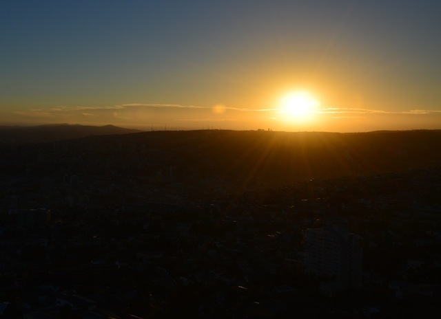Sunset in Valpo