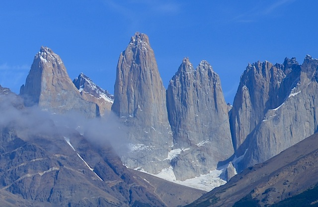 The Iconic Three Granite Towers of Torres del Paine