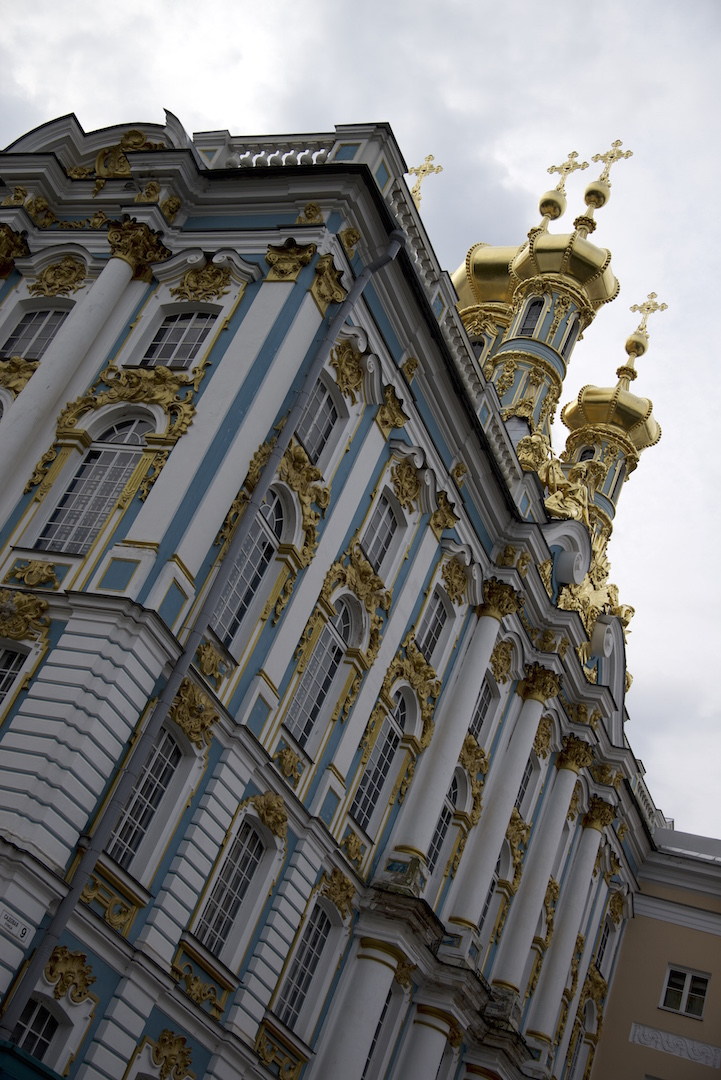 Taking the Mini Bus to Catherine Palace and Park in Tsarskoye Selo
