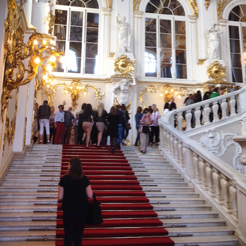 Jordan's Staircase at The Hermitage Museum