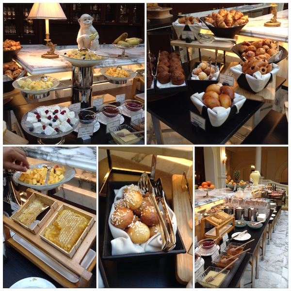 Buffet breakfast at The Tea Lounge