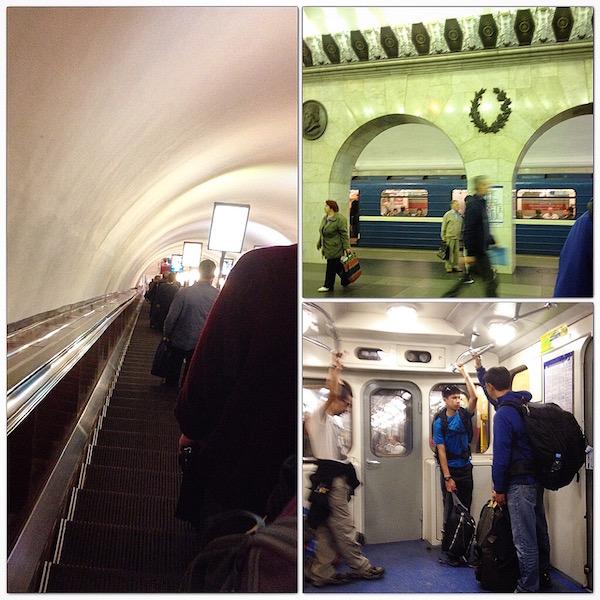 St. Petersburg metro experience