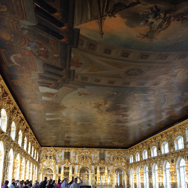 Triumph of Russia, the largest ceiling painting in the world