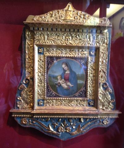 Raffaello's Madonna and Child (1483)