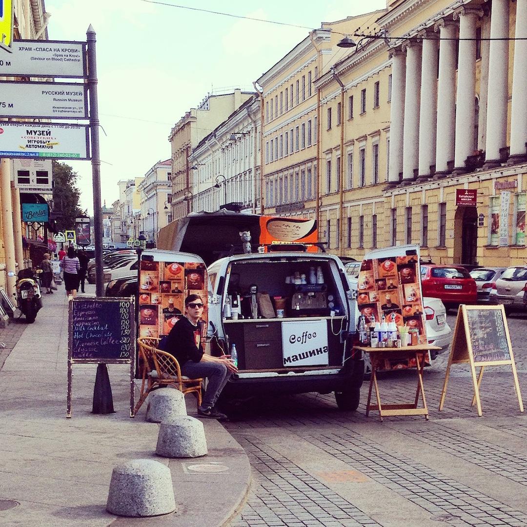 Snapshots of Scenes Around St. Petersburg Russia to Debunk Travel Myths