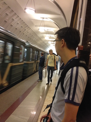 Moscow subways are very clean