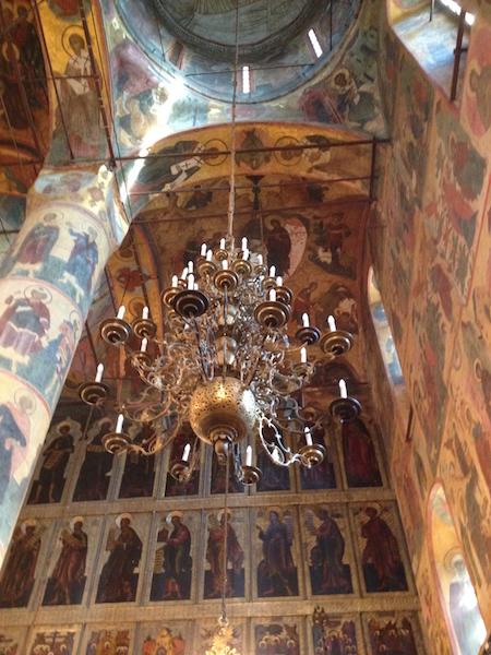 Inside the Anunciation Church