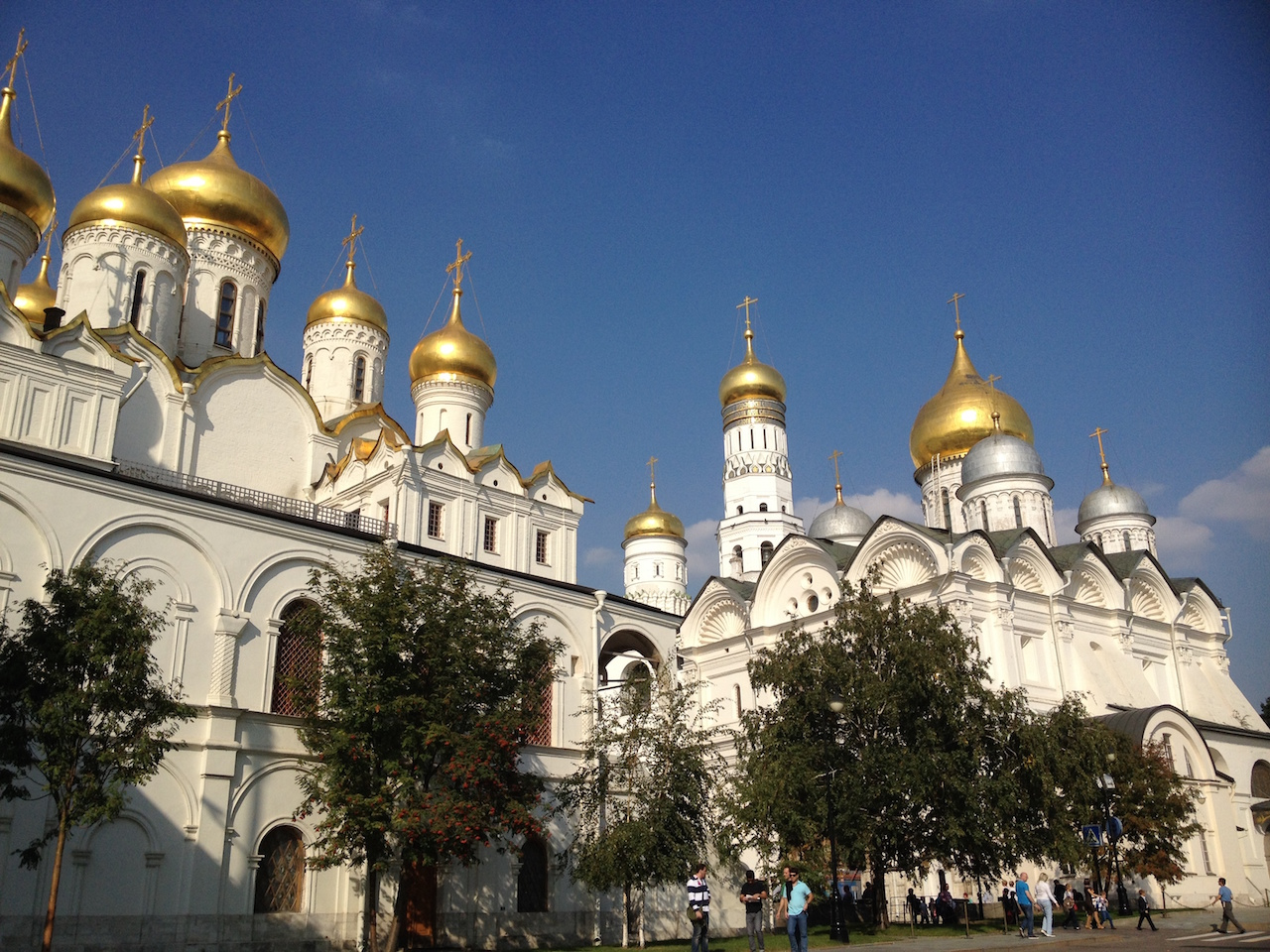 Discovering Moscow Kremlin and Red Square