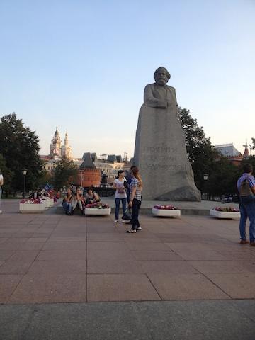 Revolution Square Moscow