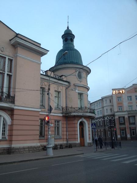 Downtown Irkutsk