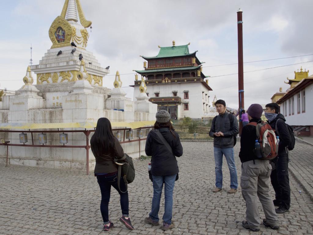 Amran, the Mongolian tour guide