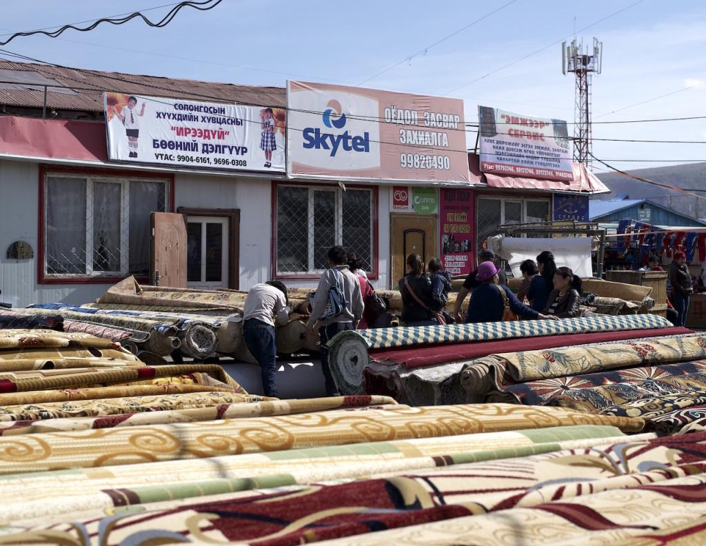 carpets in Naran Tuul