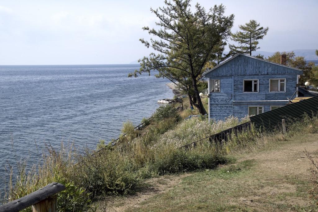 Listyanka at Lake Baikal Siberia