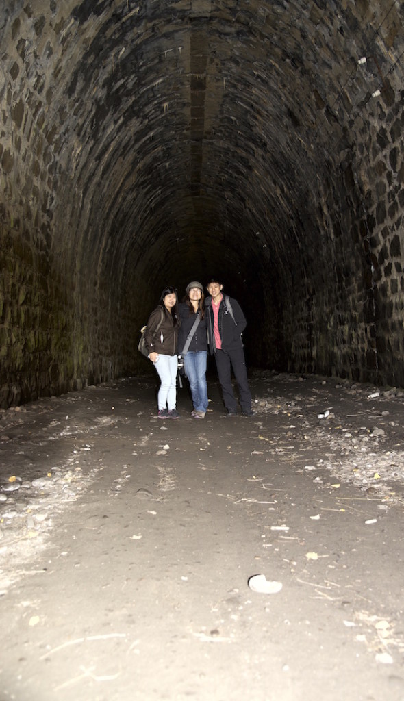 Tunnel at the Italian Wall