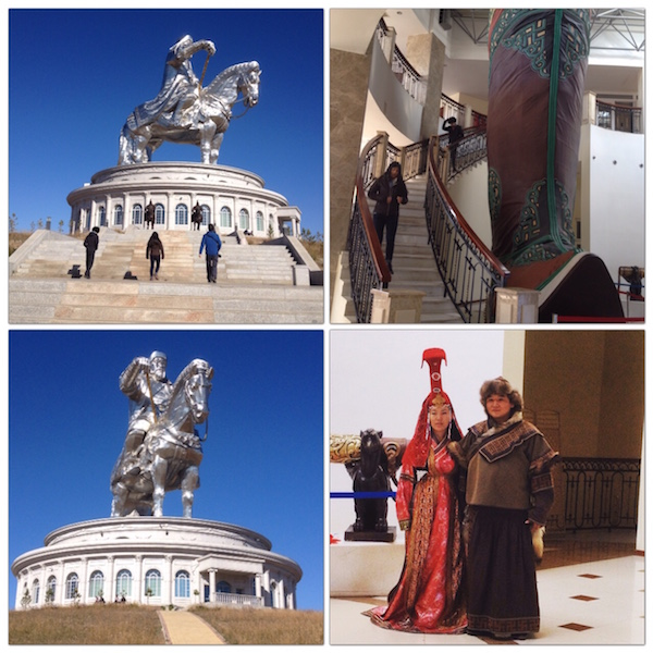 The Genghis Khan Equestrian Statue