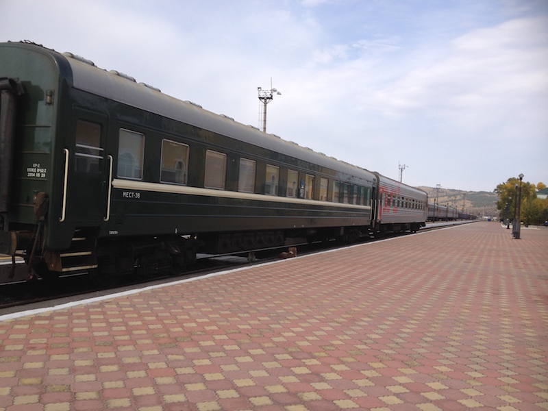 Russian and Mongolian carriages