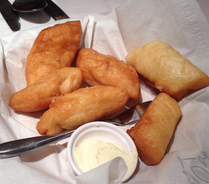Mongolian Fried dough (boortsog)