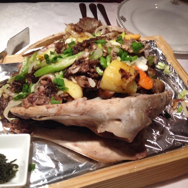 Mongolian traditional dish