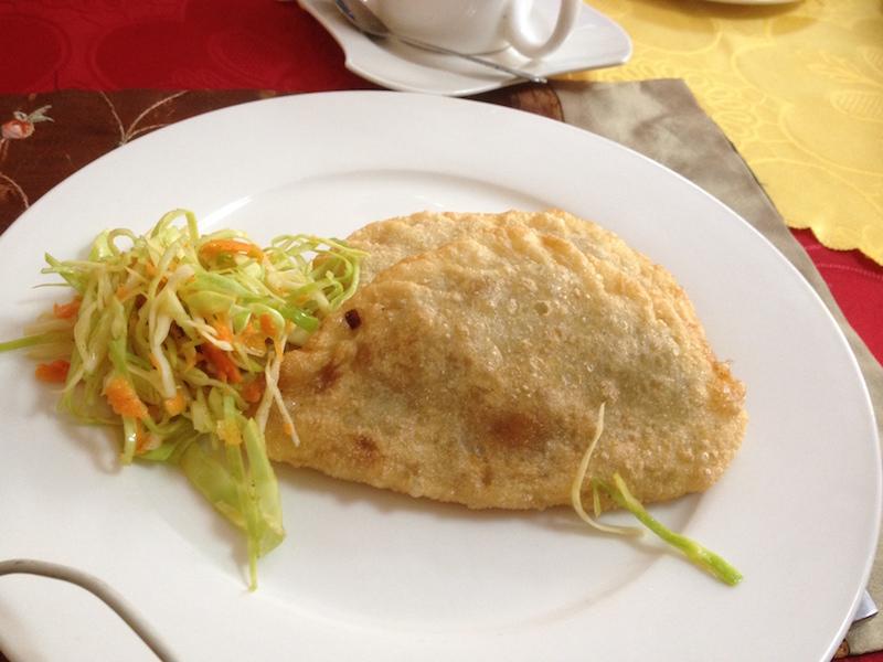 Mongolian food - khuushuur