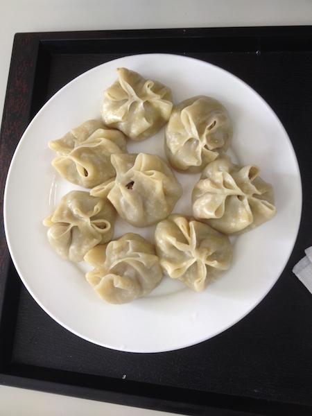 Mongolian dumplings, buuz
