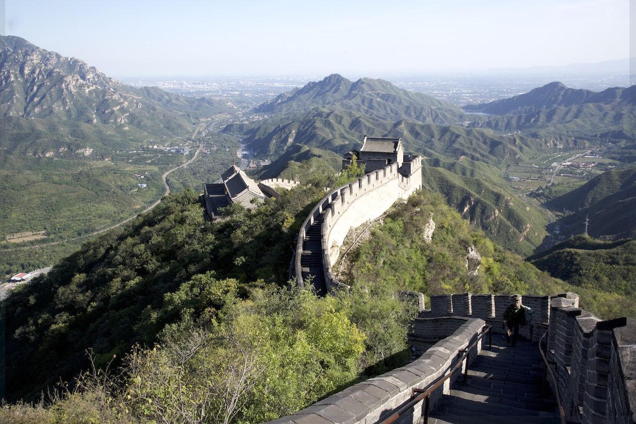 Being a Tourist at the Great Wall of China
