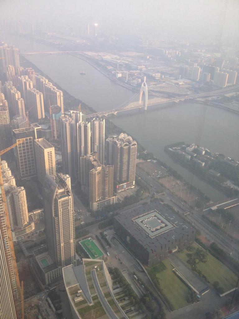 Guangzhou from Four Seasons