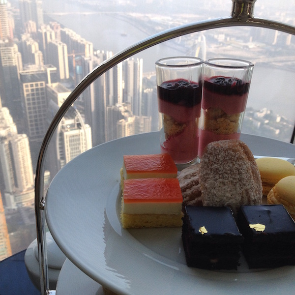 Afternoon tea at the Four Seasons Guangzhou