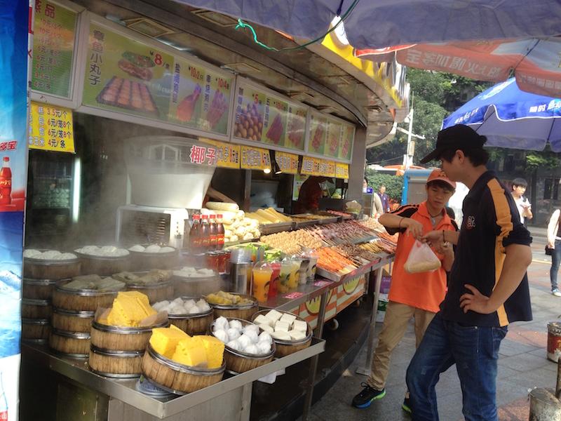 Vendors in Guangzhou