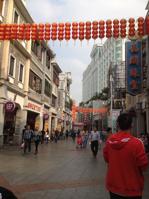 Shangxiajiu is Guangzhou's pedestrian street
