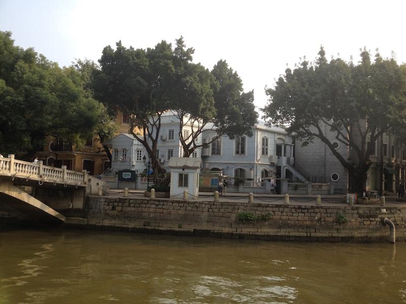 Bridge to Shamian Island Guangzhou