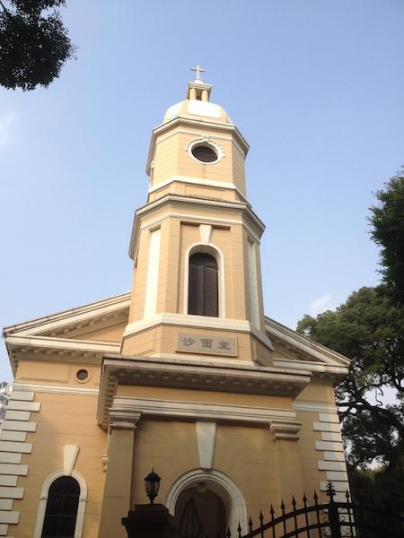 Restored church in Shamian Island