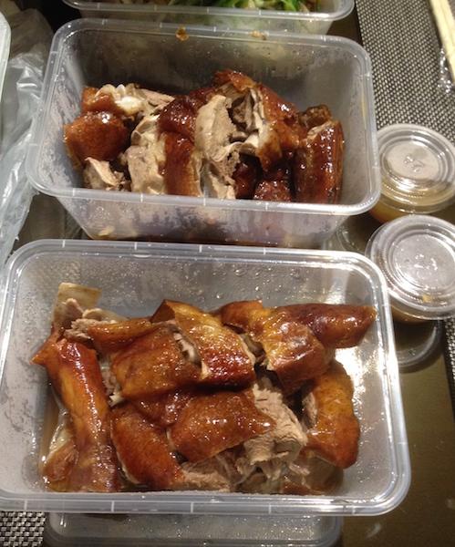 Cantonese-style roast duck