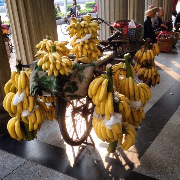 Local bananas