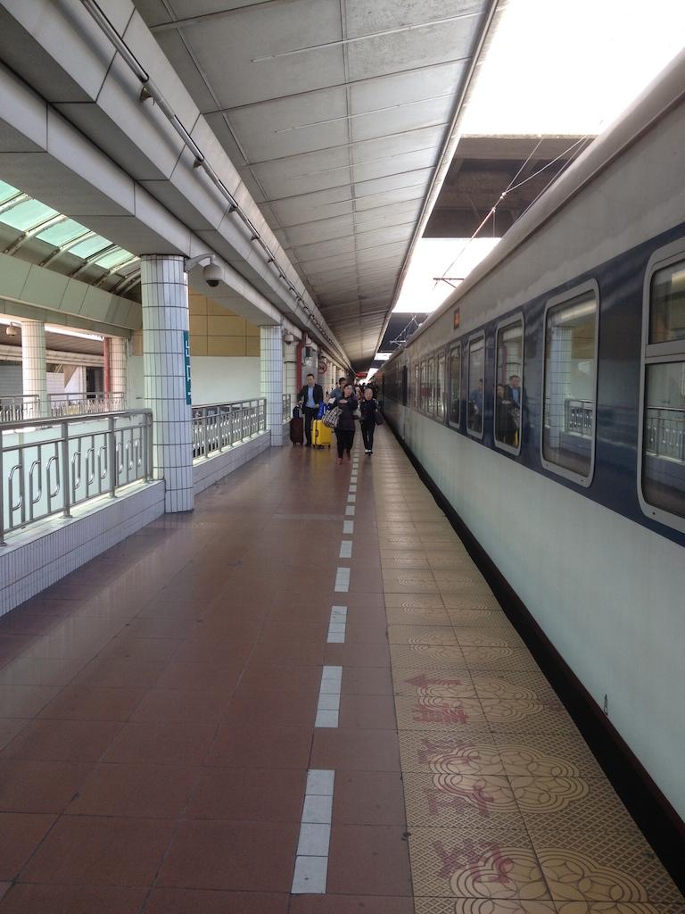 Train from Guangzhou to Hong Kong