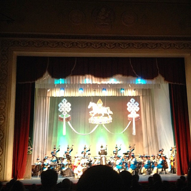 Traditional Mongolian orchestra