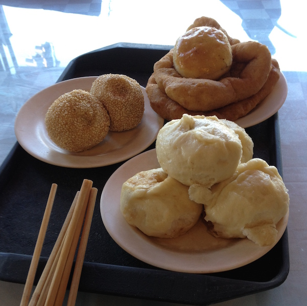 Muslim breakfast in Beijing