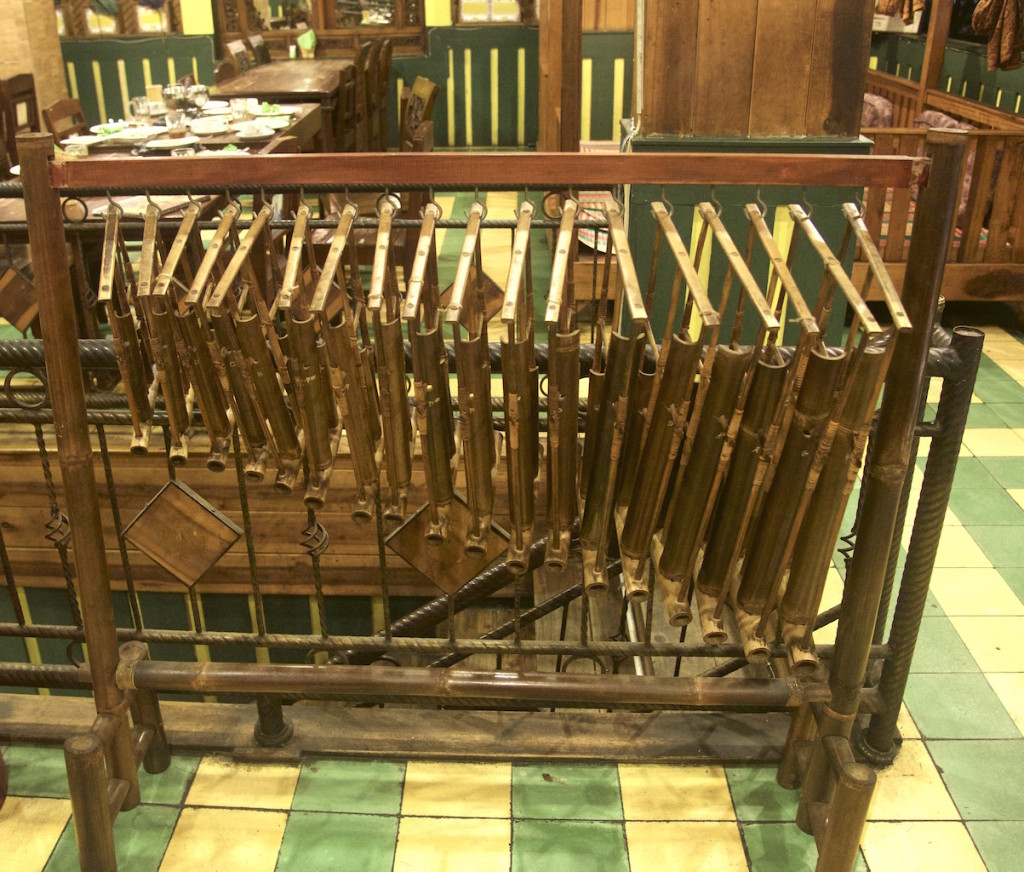 Indonesian angklung