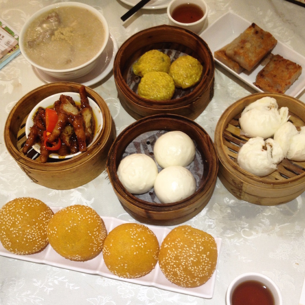 Dim sum dishes in Hong Kong