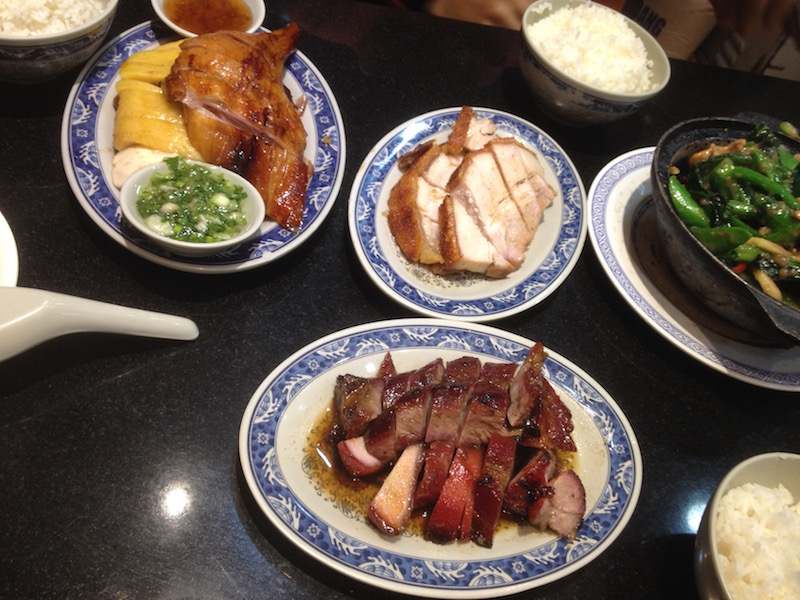 roast meats in Hong Kong