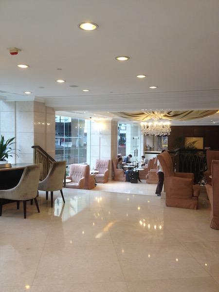 Cosmopolitan Hotel lobby